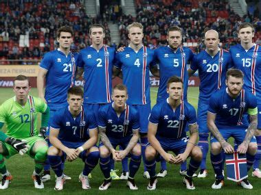 Iceland Football Team 2016 With Remarkable Rise Iceland Are The Darlings