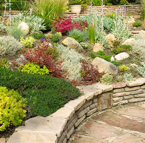Rock Gardens Ideas Rock Garden Residence Leaf Mortar