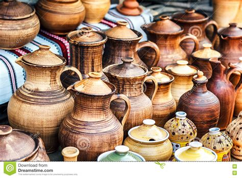 Handmade Pottery For Sale - of traditional handmade pottery for sale at the