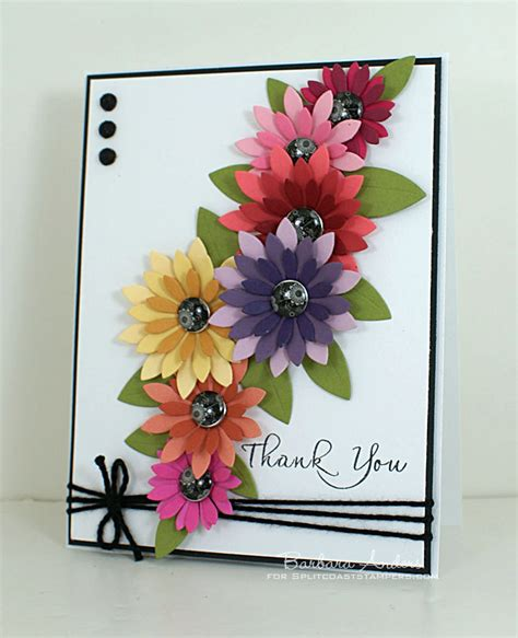 Handmade Thank You Card Designs - thank you handmade card