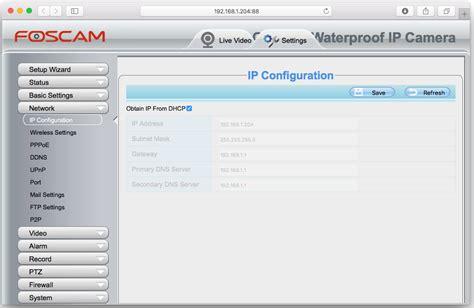 foscam ip tool setup foscam local remote foscam pro iphone app synaptic