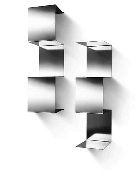 mensole acciaio inox mensole in acciaio inox design modulare inventoom