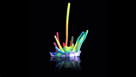 london themes vibration 3d music visualization by color the sound sculptures by