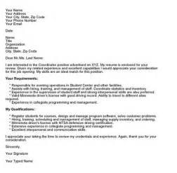 Cover Letter Formatting by Cover Letter Format