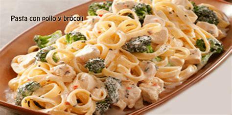 recetas de cocina pastas faciles pasta con pollo y br 242 cocina recetas f 225 ciles