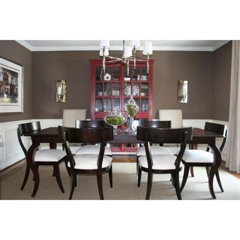 Chocolate Brown Dining Room by Dining Rooms Benjamin Whitall Brown Chocolate Brown Dining Room Updated And