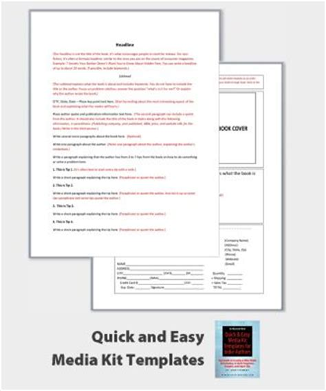 author media kit template 17 best images about author toolkits on mike d
