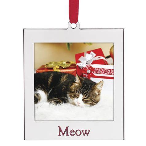 picture frame ornaments cat photo ornament lenox ornament picture
