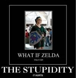 Funny Link Memes - image 282209 link zelda confusion what if zelda