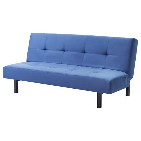 blue futon mattress balkarp blue sofa bed images