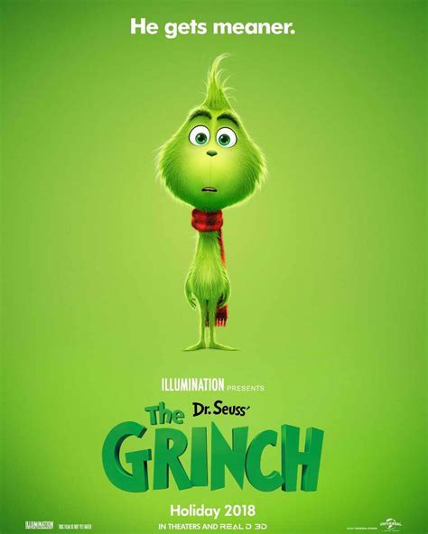 poster  illuminations  grinch  released