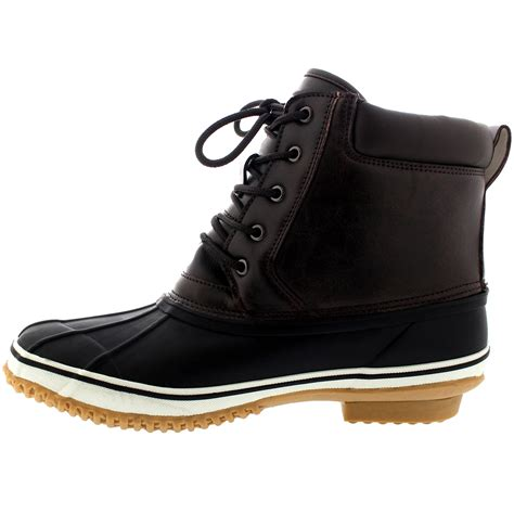 bean boots mens mens waterproof hiking walking rubber sole bean