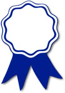 1st Prize Ribbon Template by Award Ribbon Blue T Free Images At Clker Vector