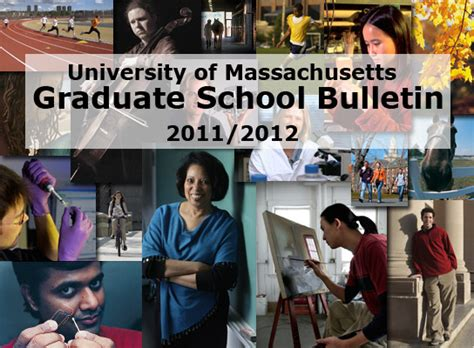 Mba Programs Umass Amherst by Graduate Bulletin Umass Amherst