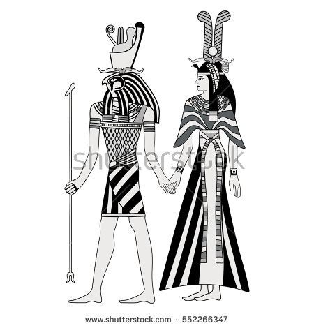 isis egyptian goddess clip art isis horus stock images royalty free images vectors