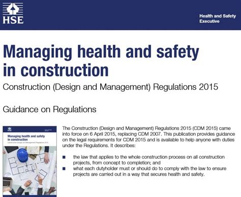 cdm health and safety file template gallery templates