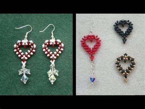 beaded superduo 2 hole bead valentines heart chain pinterest the world s catalog of ideas
