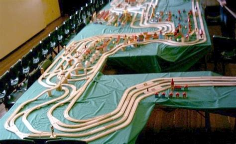 brio bliss this is what a 490 foot brio train set looks like model