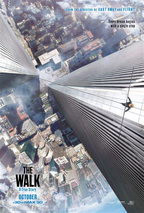 twin towers walk movie movie poster for the walk about wtc tight roper puts twin