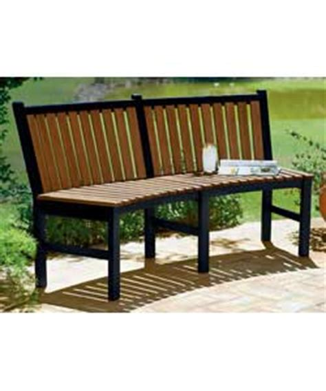 curved park bench curved park bench garden furniture review compare