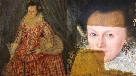 Painting Restoration by Mesmerising Of 400 Year Painting Restored In