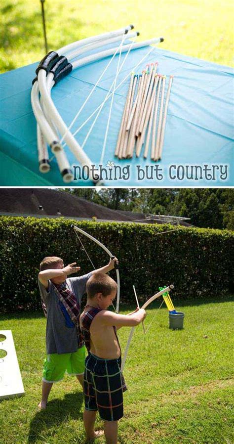 easy pvc pipe projects  kids summer fun amazing