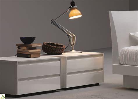 comodini con cassetti comodino moderno 2 cassetti dodo arredo design
