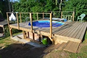 realiser une terrasse en bois sur pilotis #15: terrasse-piscine ... - Realiser Une Terrasse En Bois Sur Pilotis