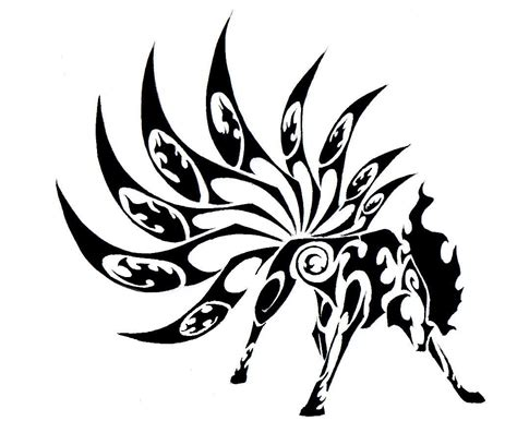 black tribal tattoo designs black tribal wolf design