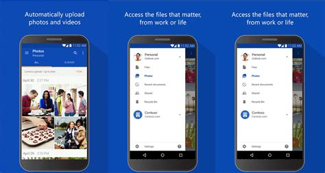 onedrive android onedrive for android update brings file sorting and some