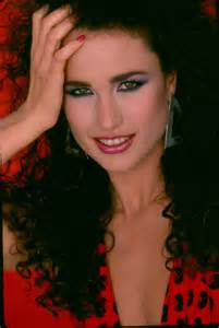 andie macdowell andie macdowell andie young celebrity photo gallery andie macdowell as young woman