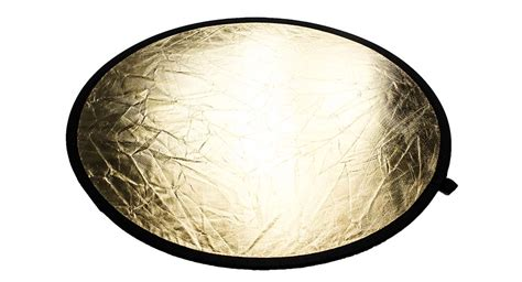 110cm Double Faced Collapsible Light Reflector Gold S Light Reflector