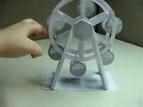 How To Make A Paper Ferris Wheel - my paper ferris wheel
