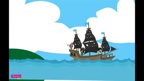 tiny boat cartoon a tiny little boat children s song cartoons youtube