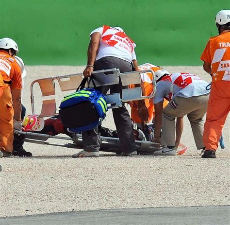 Motorrad Unfall Rennen by Motorrad Wm T 246 Dlicher Unfall Beim Rennen In San Marino