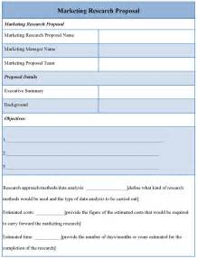 research template template for marketing research format of