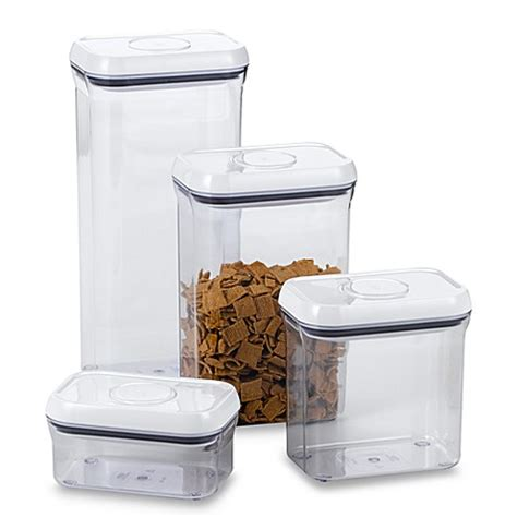 oxo good grips 174 rectangular food storage pop container