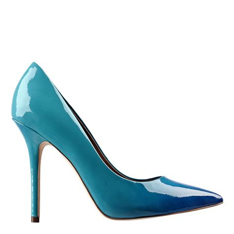 Nine Wests Blue Savona Leather by Lyst Nine West Sally Pointy Toe In Blue