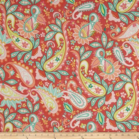 red home decor fabric riley blake home decor sweet floral red discount
