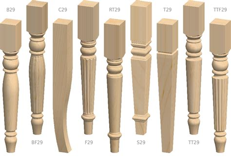 styles of furniture table legs designs crowdbuild for