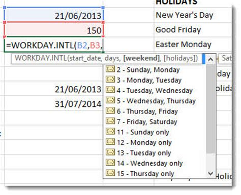 Calendar Calculator Working Days Calculate Working Days Between Two Dates Uk In Excel Uk
