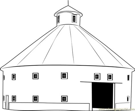 barn house coloring page round barn house coloring page free barn coloring pages