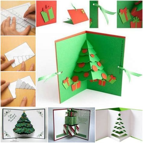 how to make a tree pop up card diy 3d pop up tree card