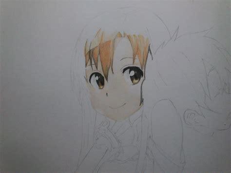 imagenes para dibujar de kirito sword art online dibujo asuna kirito gitahkon arte