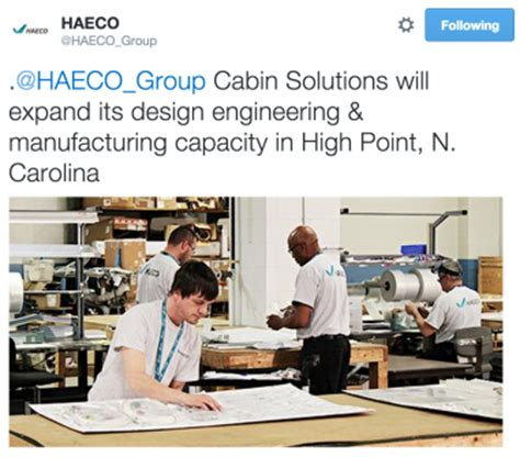 Haeco Cabin Solutions by Photo Gallery Week In Tweets Governor Visit New Blogs And Ilooklikeanengineer Aviation Week