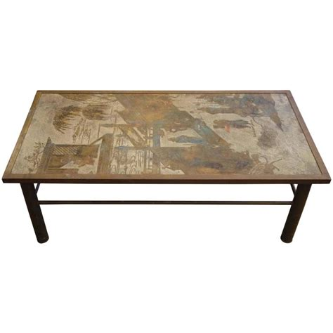 1970s Philip And Kelvin Laverne Chan Coffee Table For Sale Laverne Coffee Table