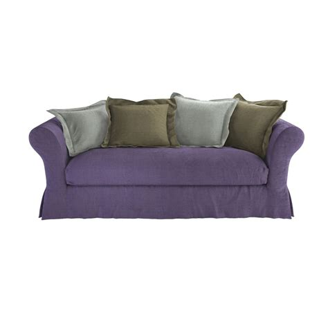 sofa bed frame sofa bed with frame seats 3 4 cam 233 l 233 on maisons du monde