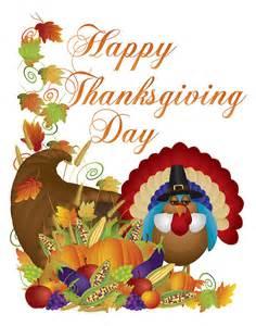 Eggplant Duvet Cover Happy Thanksgiving Day Cornucopia Turkey Illustration