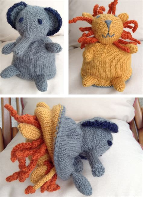 elephant knitting patterns   loop knitting