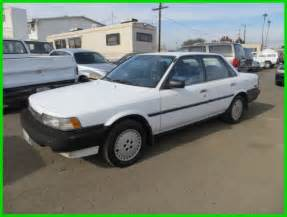 toyota camry 1989 1989 toyota camry deluxe used 2l i4 16v no reserve for